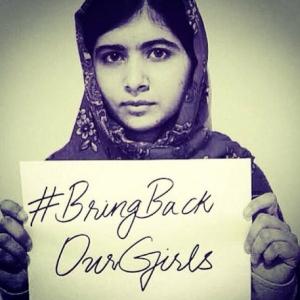 Malala Yousafzai - #BringBackOurGirls