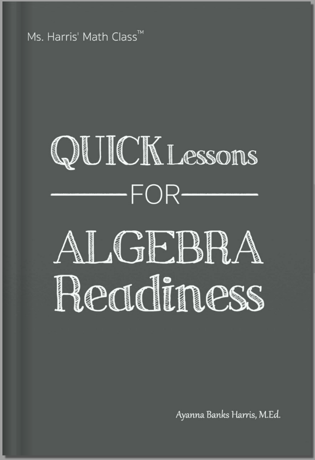 MHMC:Quick Lessons for Algebra Readiness Book Cover