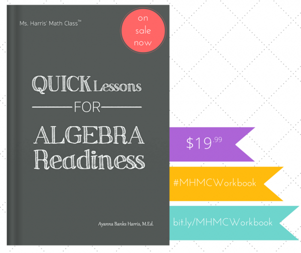 MHMC: Quick Lessons for Algebra Readiness Workbook
