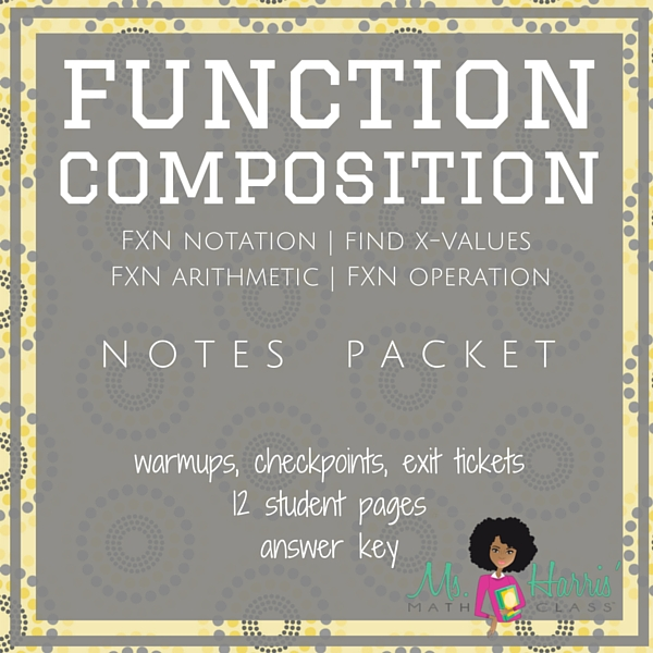 Function Composition | Notes Packet
